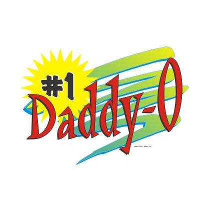 #1 DADDY-O T-SHIRT Image