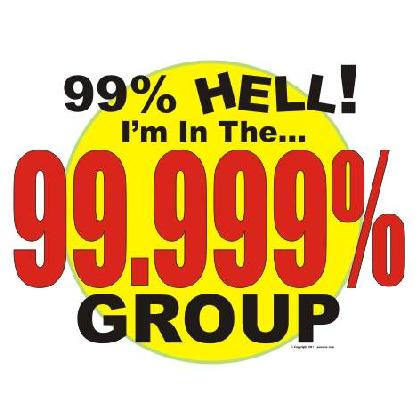 99.999% GROUP T-SHIRT Image