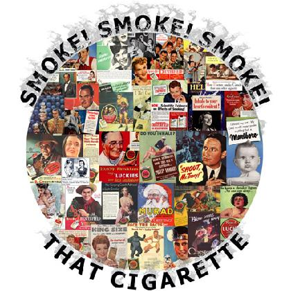 SMOKE! SMOKE! SMOKE! THAT CIGARETTE T-SHIRT Image