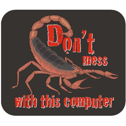 DON'T MESS WITH THIS COMPUTER! Image