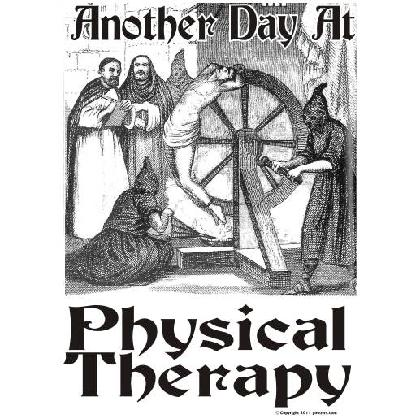 Anyone that has been through Physical Therapy knows that it is no fun ...