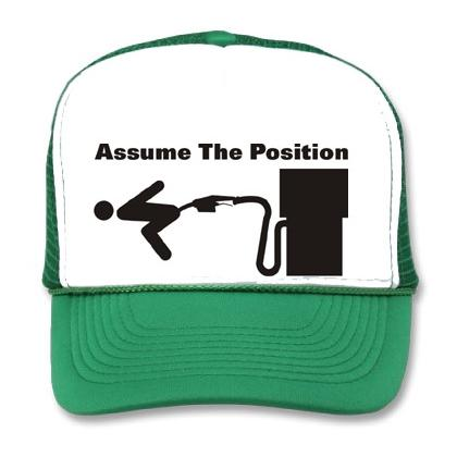 ASSUME THE POSITION BB CAP Image