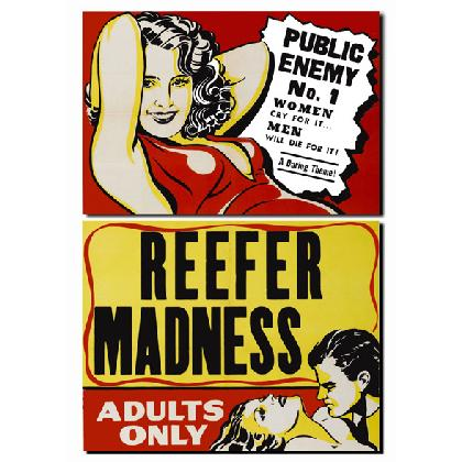 REEFER MADNESS MOVIE POSTER T-SHIRT Image