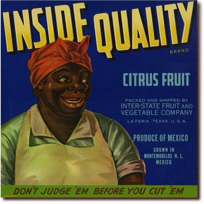 INSIDE QUALITY CITRUS FRUIT CRATE LABEL T-SHIRT Image