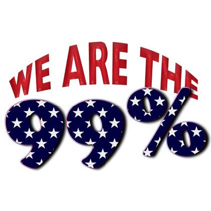WE ARE THE 99% T-SHIRT Image