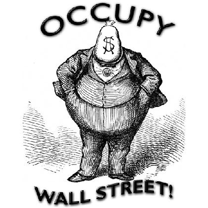 OCCUPY WALL STREET T-SHIRT Image