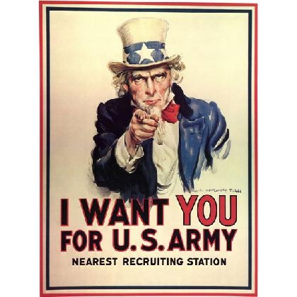 I WANT YOU FOR THE U.S. ARMY T-SHIRT Image