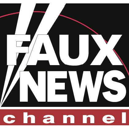 FAUX NEWS CHANNEL T-SHIRT Image